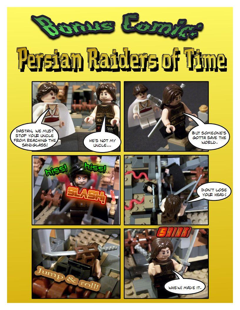 Bonus - Persian Raiders of Time - 1