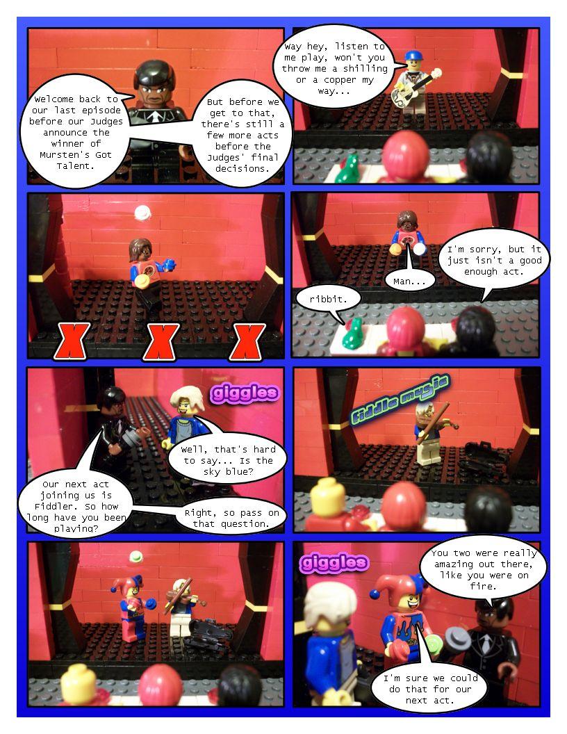 Mursten's Got Talent Part Five