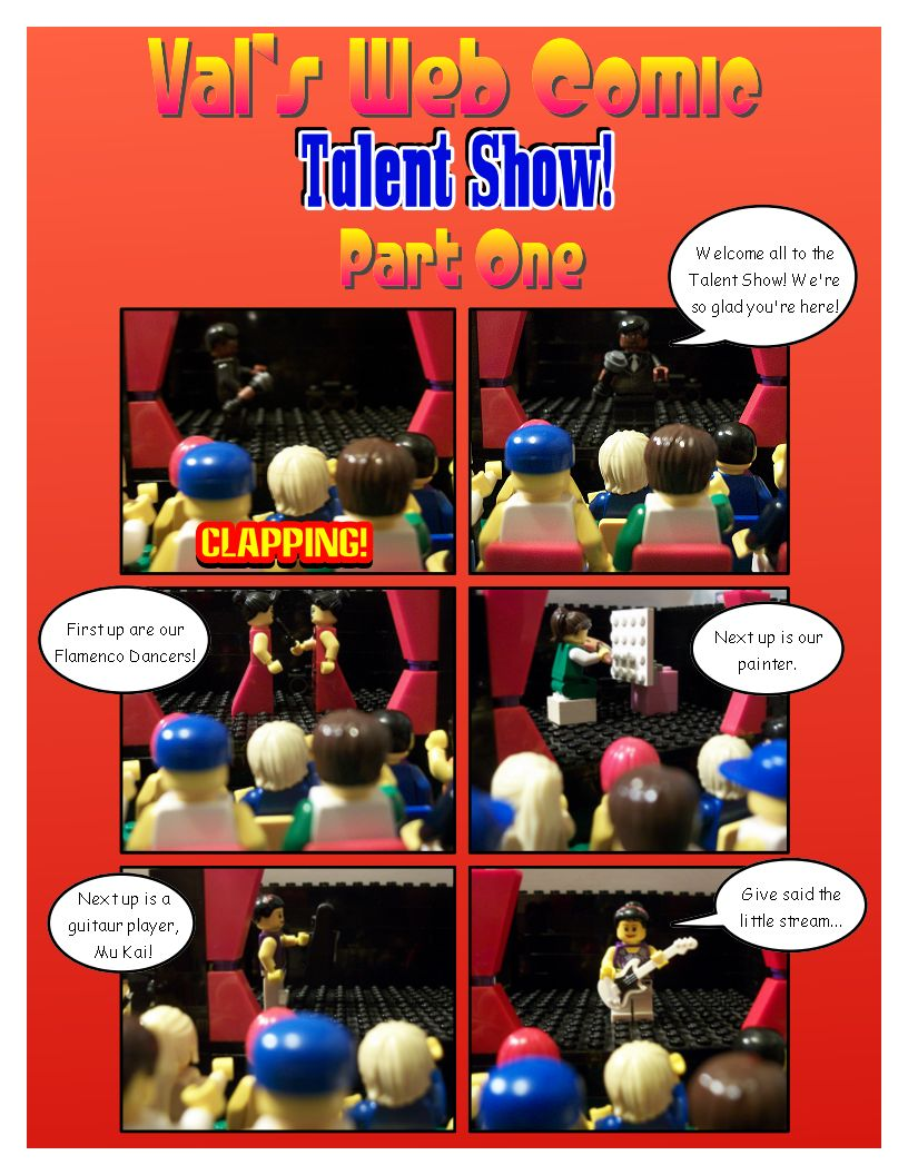 Val's Comic - Talent Show One