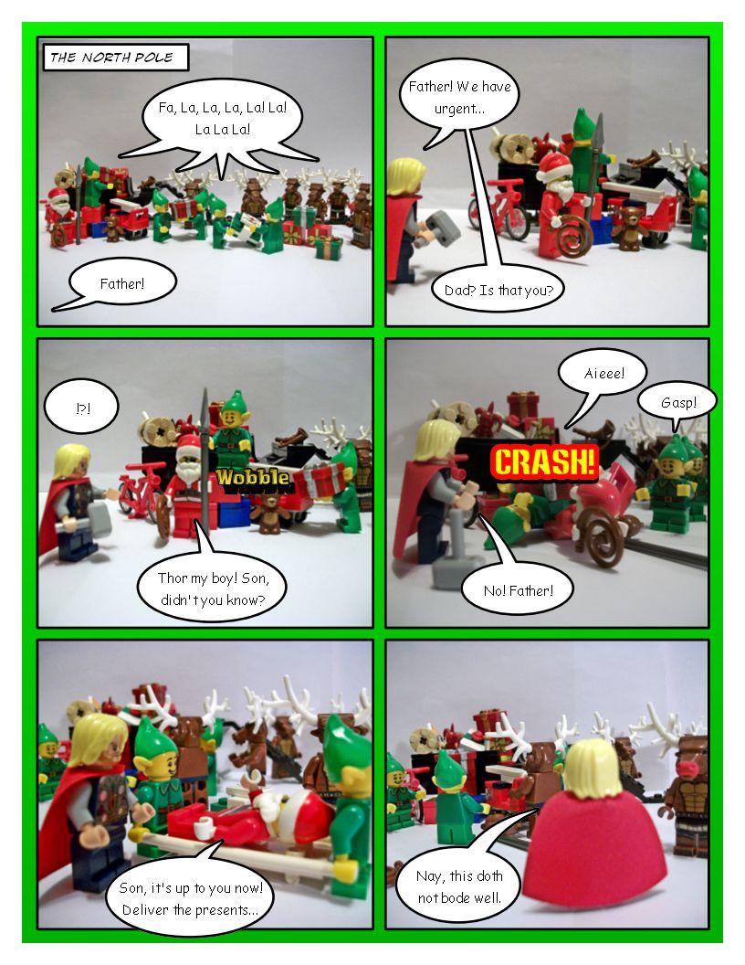 Avengers' Christmas - Part 1
