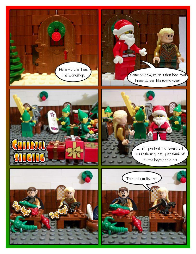 Legolas, the Christmas Elf - Part Two