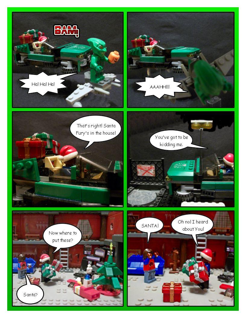 Avengers' Christmas - Part 9